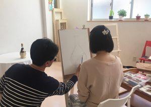 絵画教室 体験レッスン 基礎デッサン05